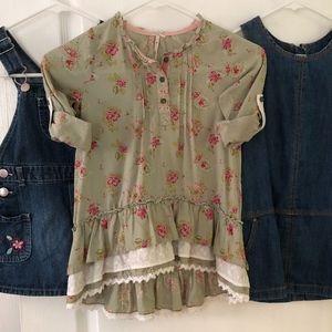 BUNDLE: 3T Girls Bohemian Dresses